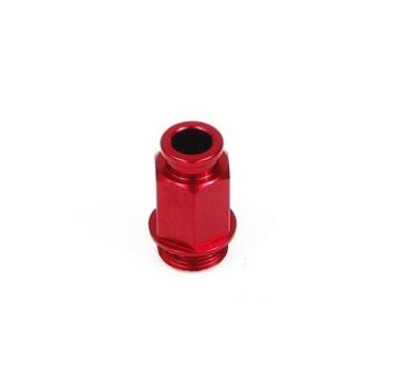 Conector do Afogador Hot Start Partida Quente MotoCross Universal Aluminio Vermelho Red Dragon