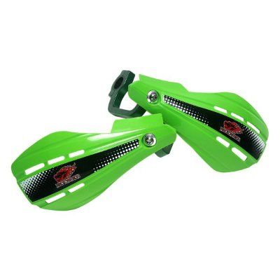 Protetor de Mao MotoCross Aberto Universal Suporte de Aluminio Verde Red Dragon