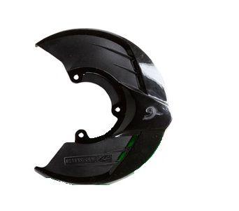 Protetor Disco de Freio Dianteiro Motos KTM Sx Exc Sxf Excf Husqvarna Preto Suporte RD