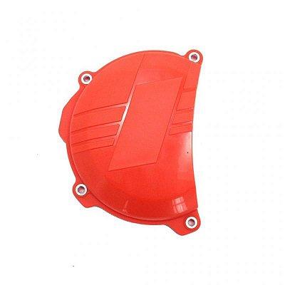 Protetor da Tampa de Embreagem KTM Sxf Excf 250 350 16-17 Laranja Red Dragon