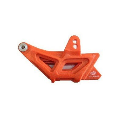 Guia Deslizador da Corrente Traseira KTM Sx Sxf Exc Excf Laranja Completo Red Dragon