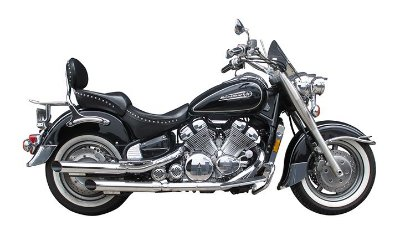 "Ponteira de Escapamento Dupla Torbal Yamaha Royal Star 1300 1996-2003 2"" Pgl. Corte Lateral"