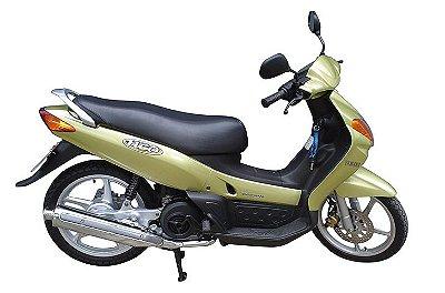 """Ponteira do Escapamento Torbal Yamaha Neo 115 Todas 3"""" Pol. Esportiva"""