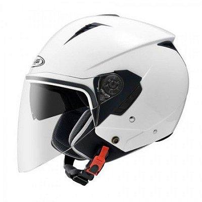 Capacete Moto Zeus 205 White Aberto