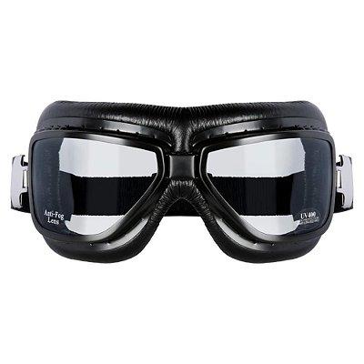 Óculos para Moto Goggles Sky Blk Vintage Urban Old Scholl
