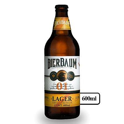 Cerveja Lager Bierbaum | Garrafa 600ml