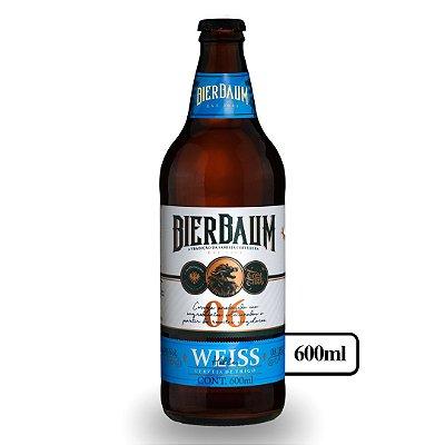 Cerveja Weiss Helles Bierbaum | Garrafa 600ml