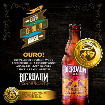 Cerveja Bierbaum Doppelbock Bourbon Wood Aged| Garrafa 300ml
