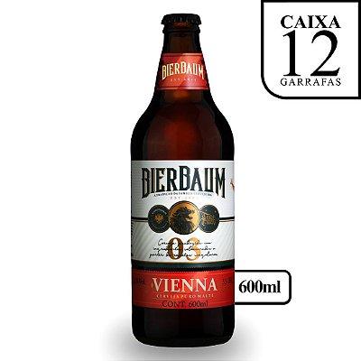 Caixa com 12 Cervejas Vienna Bierbaum | Garrafa 600ml