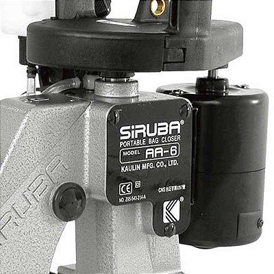 Siruba AA6 - Máquina de costura para sacarias