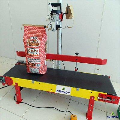 Sistema de Costura Semi-Industrial Elétrica c/ Aplicador de Fita Crepe