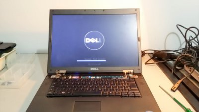 Assistência Técnica para Notebook Dell Vostro 1520 é aqui, confira conosco as fotos deste conserto