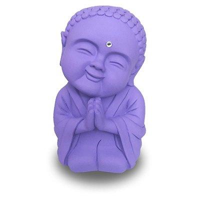 Monge da Gratidão Grande (20cm) Roxo