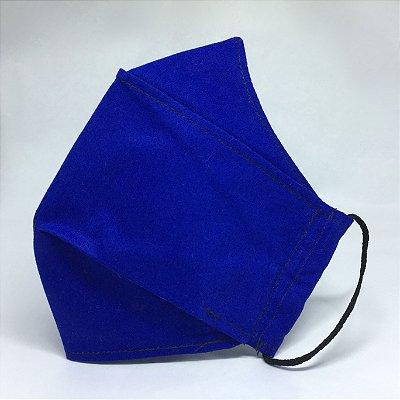 Mascara de Tecido 3D Azul Royal - Tarja 2.0