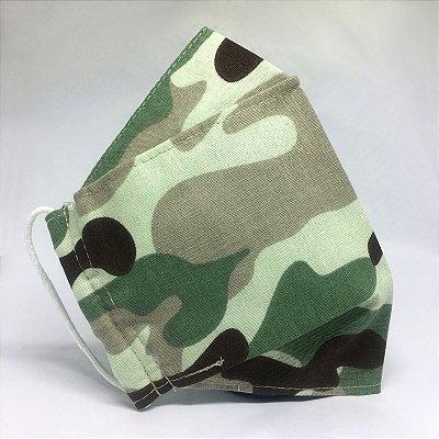 Mascara 3D Camuflada - TRIPLA Camada