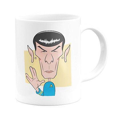 Caneca Personalizada Spock Star Trek
