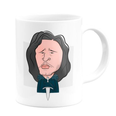 Caneca Personalizada Jon Snow - Game Of Thrones