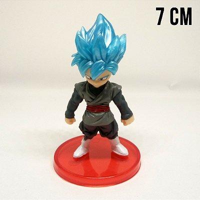 Miniatura Dragon Ball Super Goku Black Super Saiyajin Blue