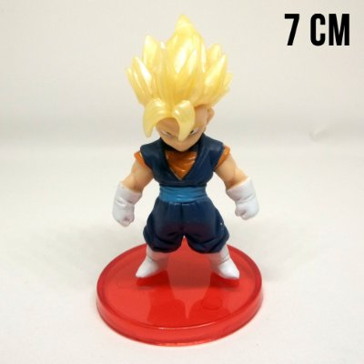 Miniatura Dragon Ball Z Vegetto Super Saiyajin