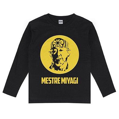 Camiseta Manga Longa Mestre Miyagi