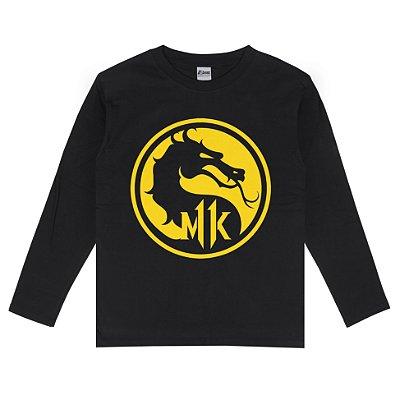 Camiseta Manga Longa Mortal Kombat 11