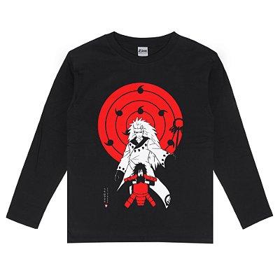 Camiseta Manga Longa Madara Uchiha Rikudou Sennin