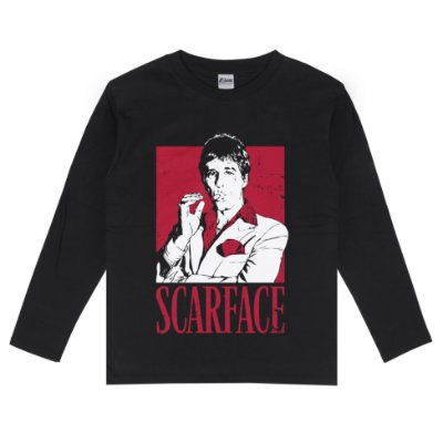 Camiseta Manga Longa Scarface Al Pacino