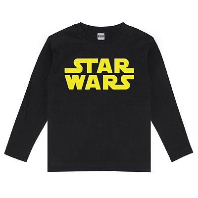 Camiseta Manga Longa Star Wars