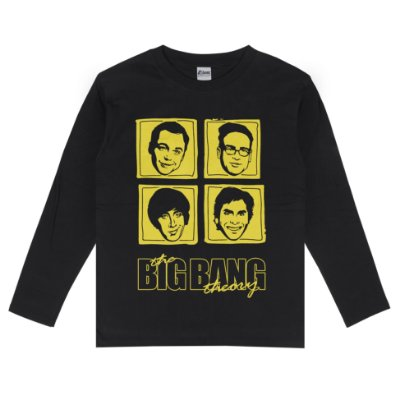 Camiseta Manga Longa The Big Bang Theory