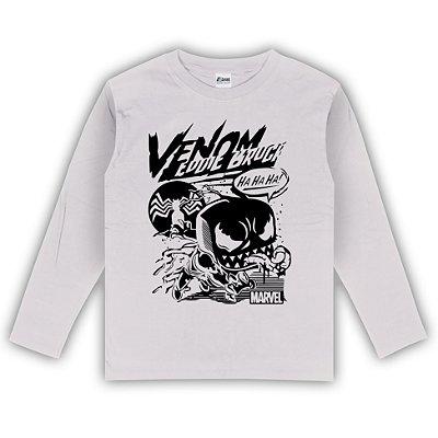 Camiseta Manga Longa Venom Funko Cartoon