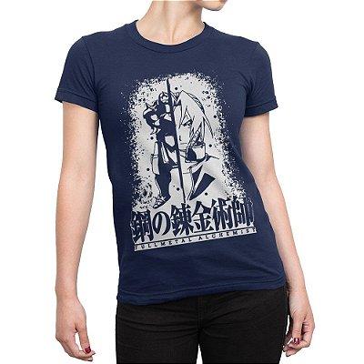 Camiseta Fullmetal Alchemist Feminina