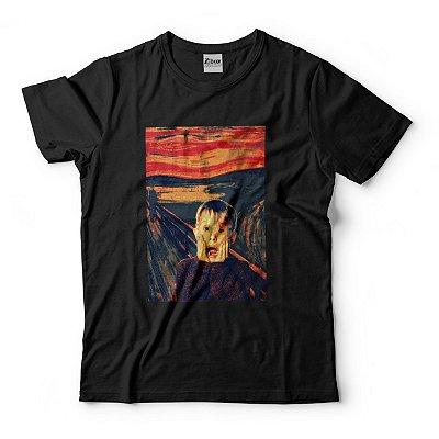 Camiseta O Grito Macaulay Culkin