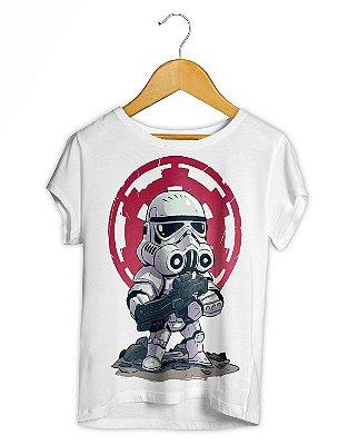 Camiseta Feminina Star Wars Snowtrooper