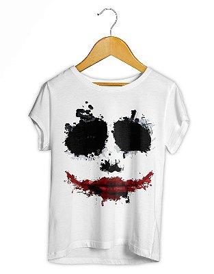 Camiseta Feminina Coringa Marca Risada
