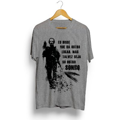 Camiseta The Walking Dead Rick Grimes Frase