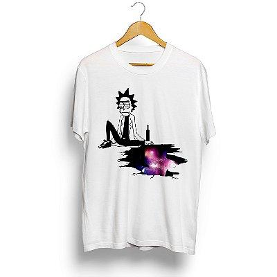 Camiseta Rick And Morty Rick Sanchez Triste