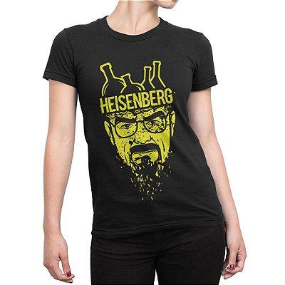 Camiseta Heisenberg Química Feminina