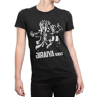 Camiseta Jiraya Sensei Feminina