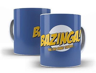 Caneca Bazinga! The Big Bang Theory