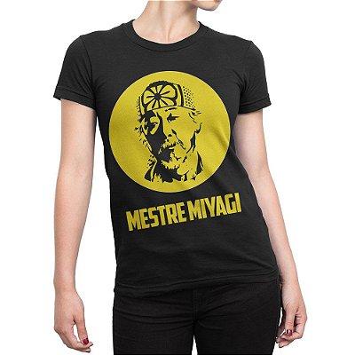 Camiseta Mestre Miyagi Feminina