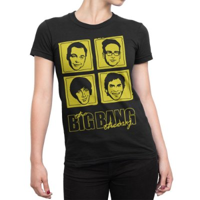 Camiseta The Big Bang Theory Feminina