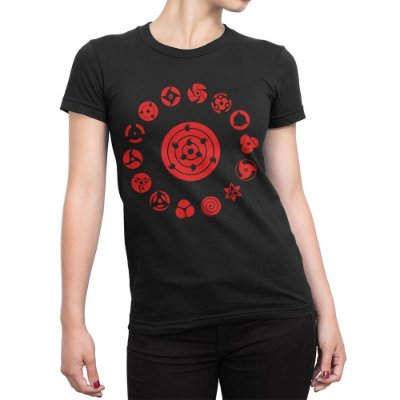 Camiseta Sharingans Feminina