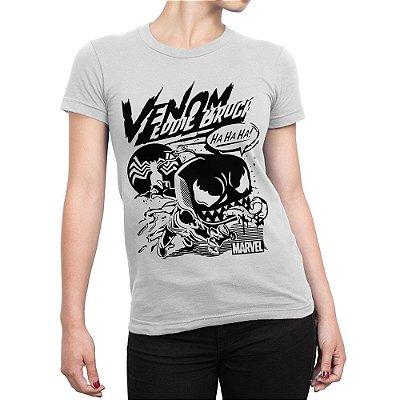 Camiseta Venom Funko Cartoon Feminina