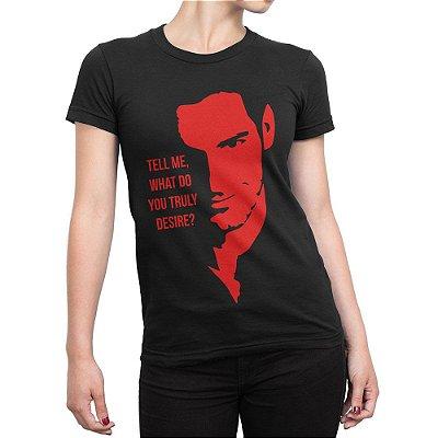 Camiseta Lúcifer Morningstar Feminina