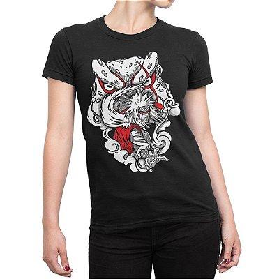 Camiseta Feminina Jiraiya Sennin