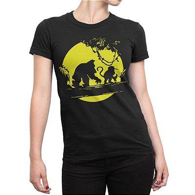 Camiseta Donkey Kong Feminina