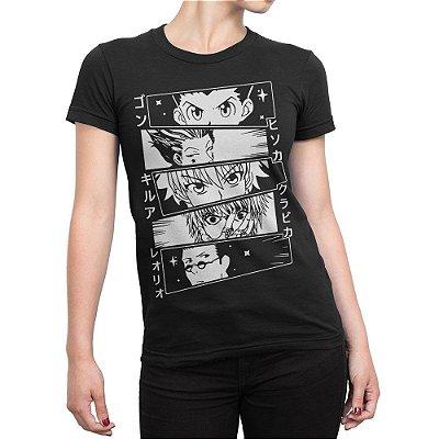 Camiseta Hunter x Hunter Feminina