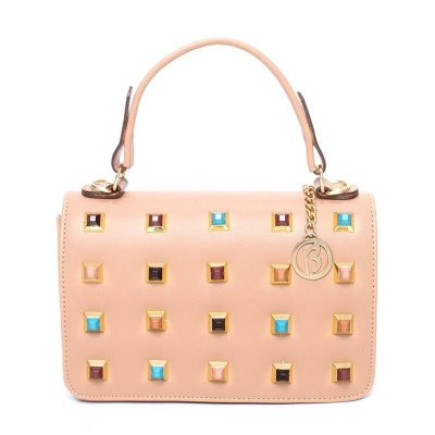 Bolsa Biró Mini Bag com pirâmides  2NEHRE76A
