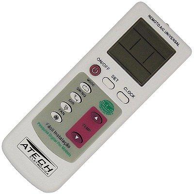 Controle Remoto Universal Ar Condicionado MAX-100 (90 Marcas)
