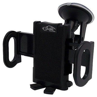Suporte Veicular Automotivo Universal GPS / Telefone Celular / Smartphone